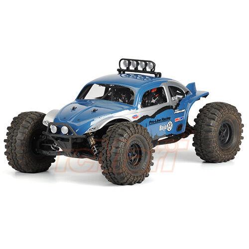 PRO-LINE Volkswagen Baja Bug Clear Body Axial Yeti EP 4WD