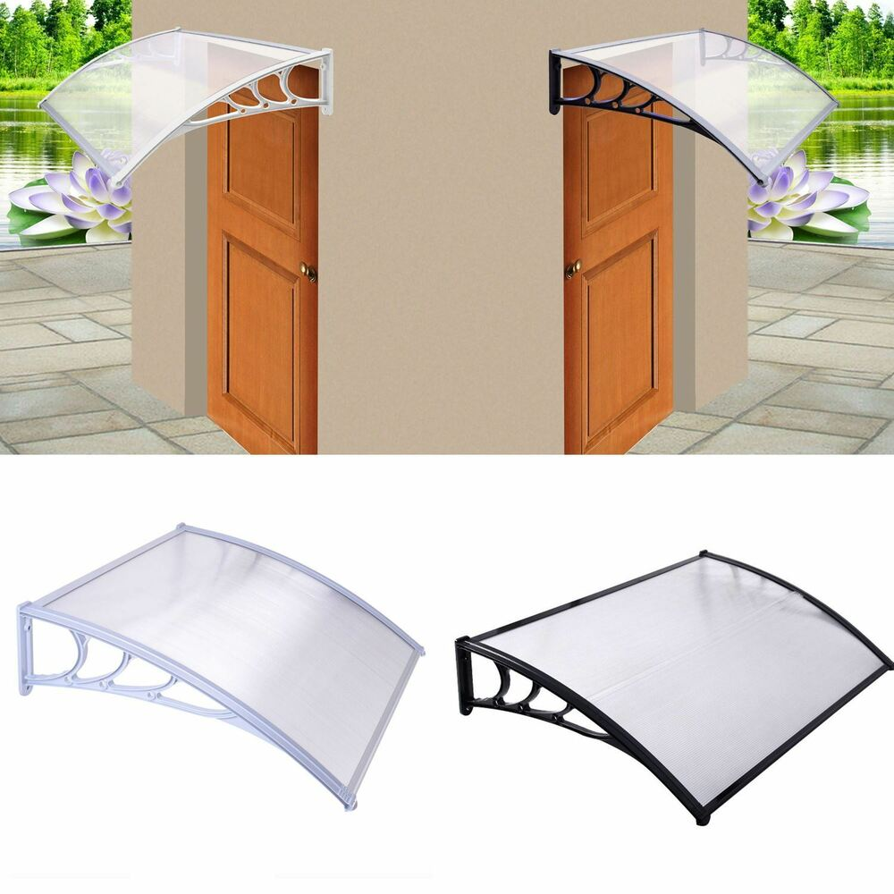Front Door Roof: New Door Canopy Awning Rain Shelter Front Back Porch