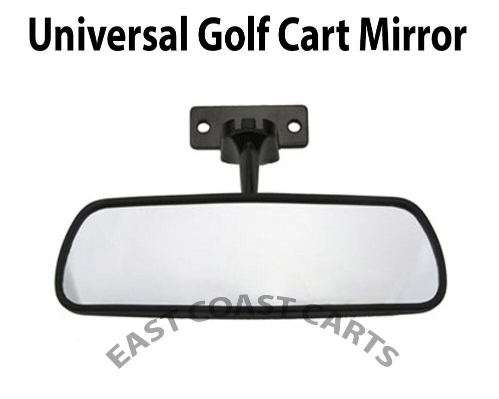 ezgo club car yamaha golf cart review mirror universal mirror ebay. Black Bedroom Furniture Sets. Home Design Ideas