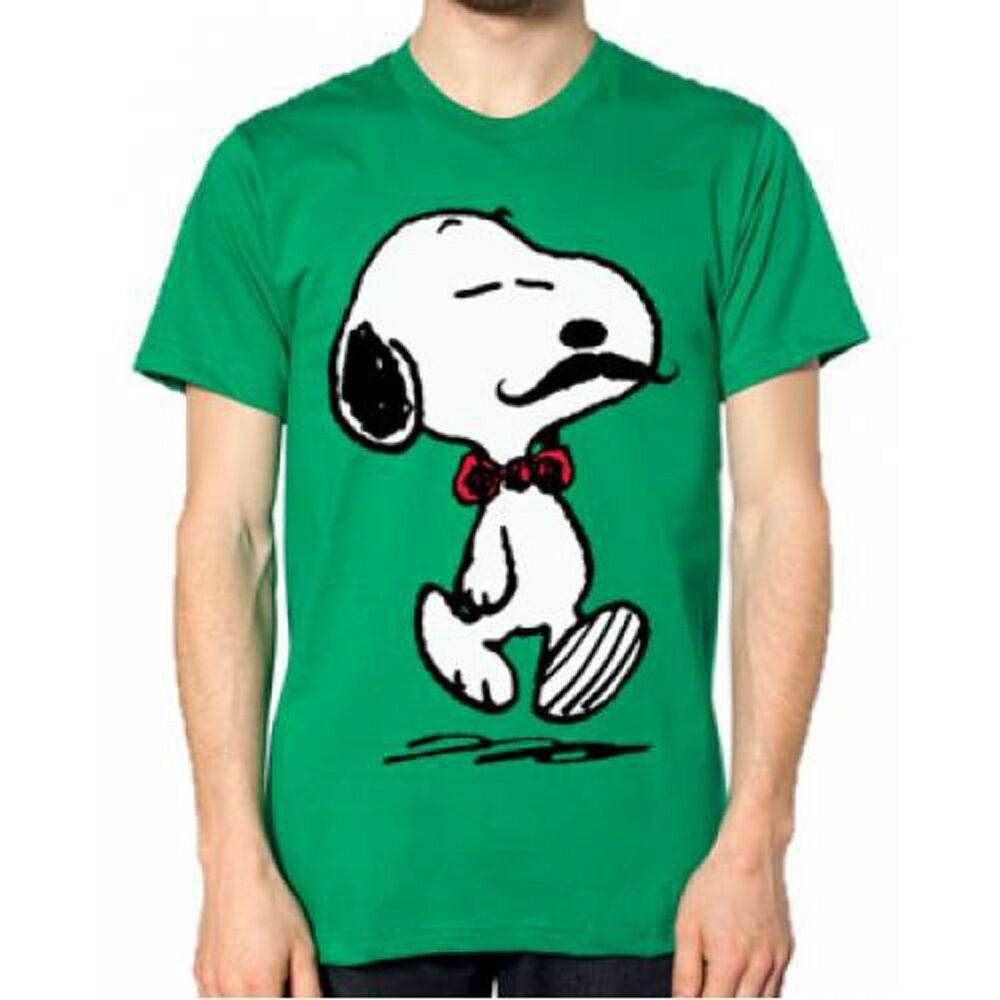 movember peanuts snoopy mustache men 39 s t shirt tee tshirt pnt2. Black Bedroom Furniture Sets. Home Design Ideas