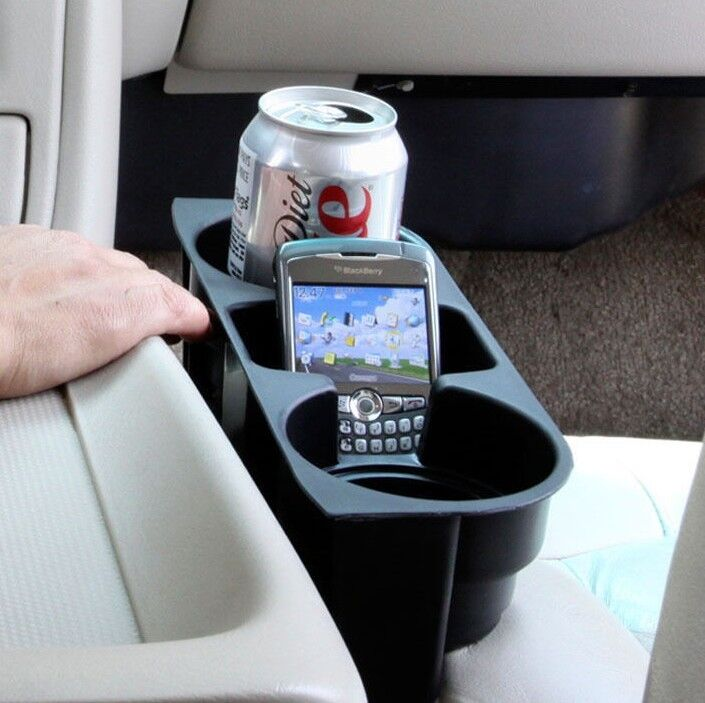 Wedge Dual Drink Cup Holder Cell Iphone M3 X5 E30 E36 E46