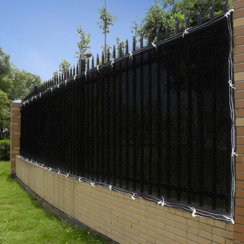 Chain Link Screen ~ Ft privacy screen mesh fence cover windscreen