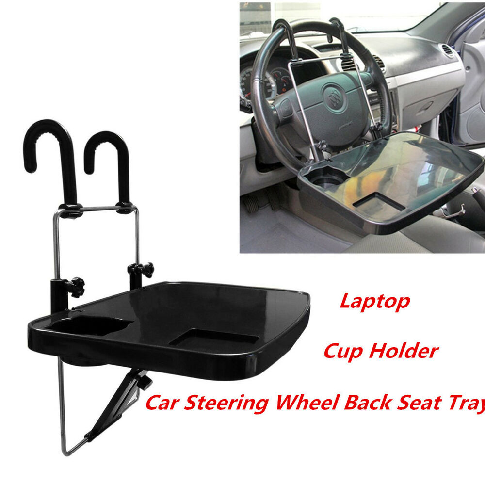 car auto laptop tablet pc ipad mount stand holder desk table drink food cup tray ebay. Black Bedroom Furniture Sets. Home Design Ideas