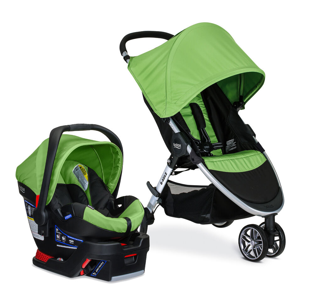 Britax Agile Stroller Safe Car Seat Travel