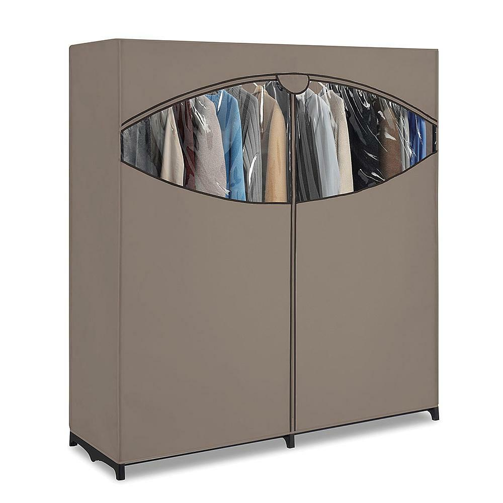 New 60 wardrobe extra wide clothes storage closet space for Extra closet storage