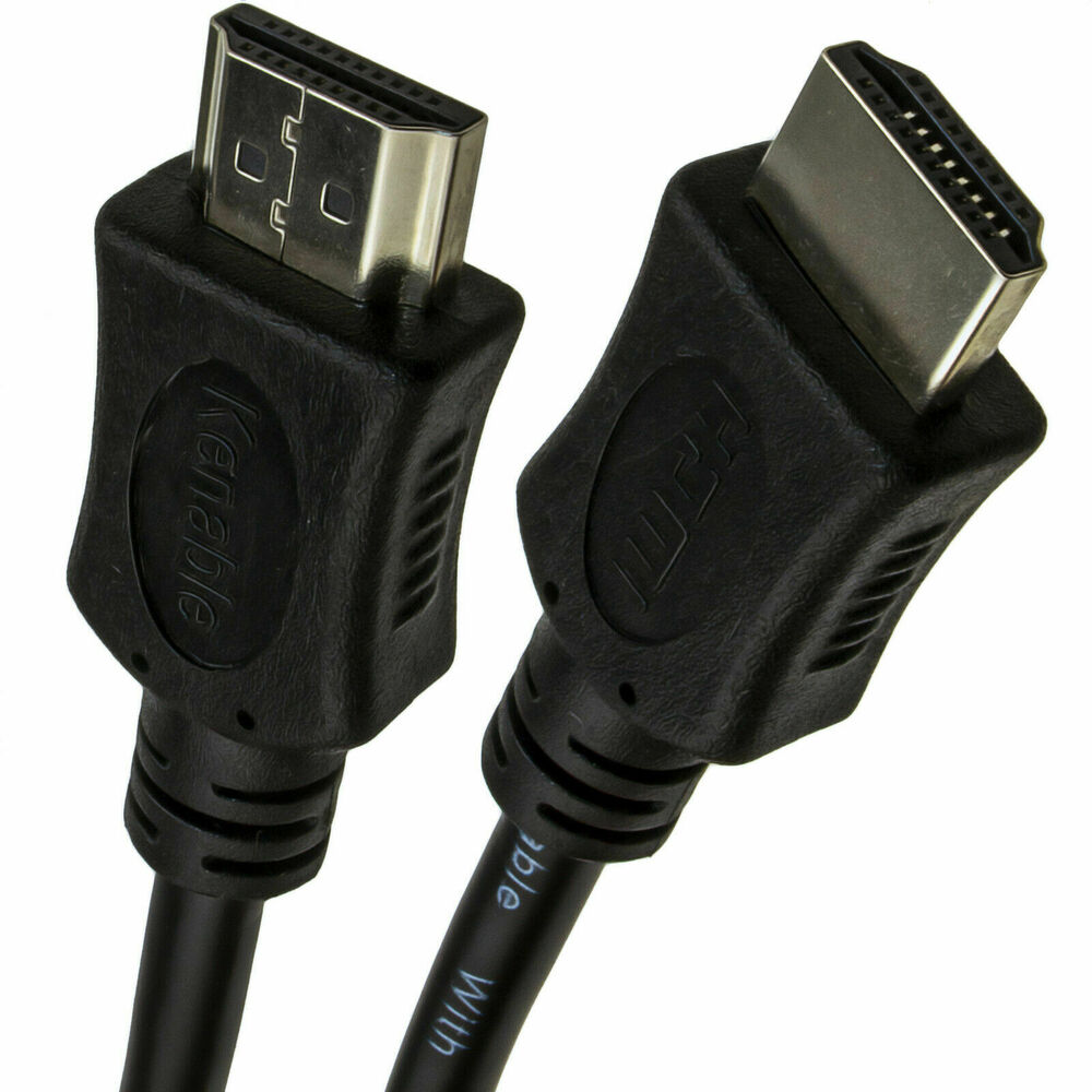3m Hdmi High Speed 3dtv 1 4 Cable Sky Ps3 Tv Screened Lead