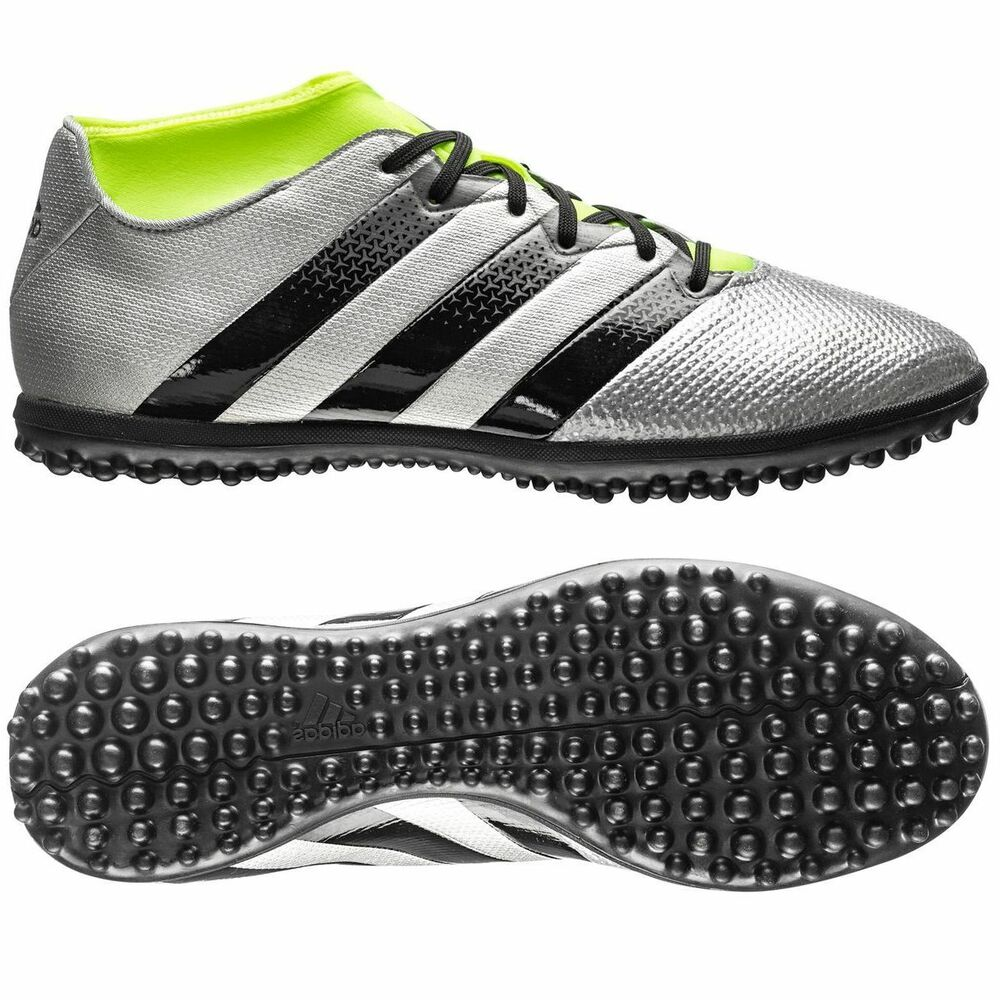 ece498c1c Details about adidas Ace 16.3 Primemesh TF Turf 2016 Soccer Shoes New  Silver   Yellow