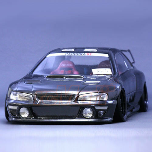pandora rc cars subaru impreza 22b sti 1 10 drift 196mm clear body set pab 137 ebay. Black Bedroom Furniture Sets. Home Design Ideas