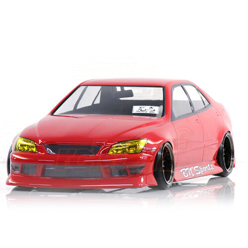 pandora rc cars toyota altezza bn sports 1 10 drift 198mm clear body pab 167 ebay. Black Bedroom Furniture Sets. Home Design Ideas