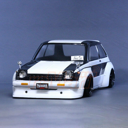 pandora rc cars toyota starlet kp61 1 10 drift 200mm clear body set pab 142 ebay. Black Bedroom Furniture Sets. Home Design Ideas