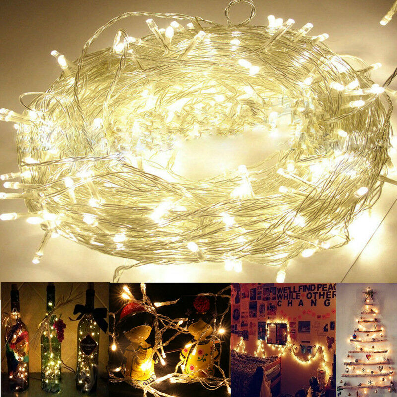 Wedding String Lights Diy : 20/30/50 String Fairy Lights LED Battery Operated Party Room Wedding Decor DIY eBay