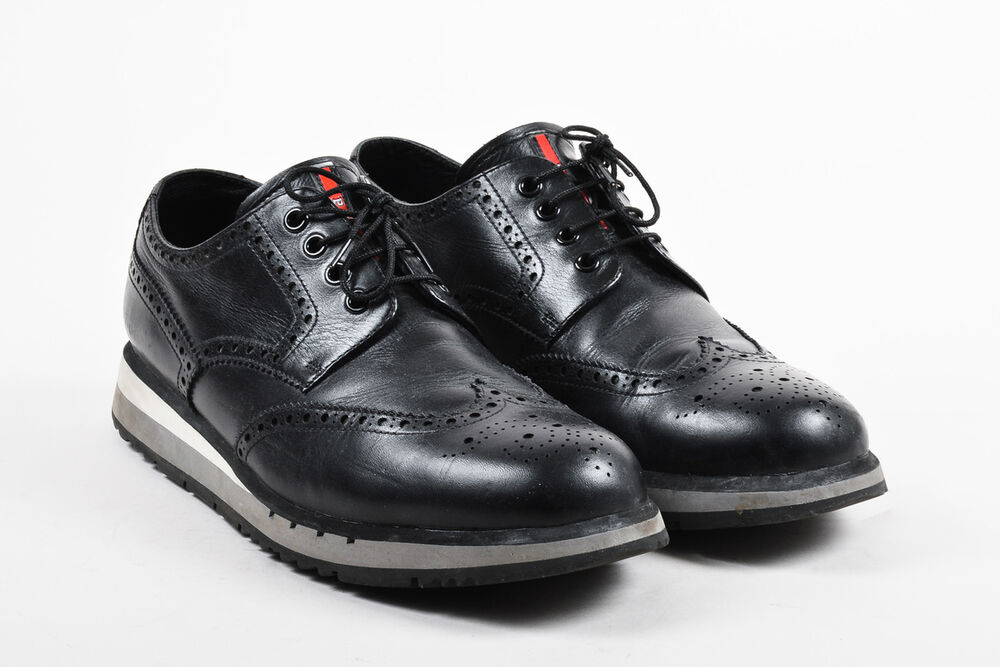 Prada Leather Casual Shoes