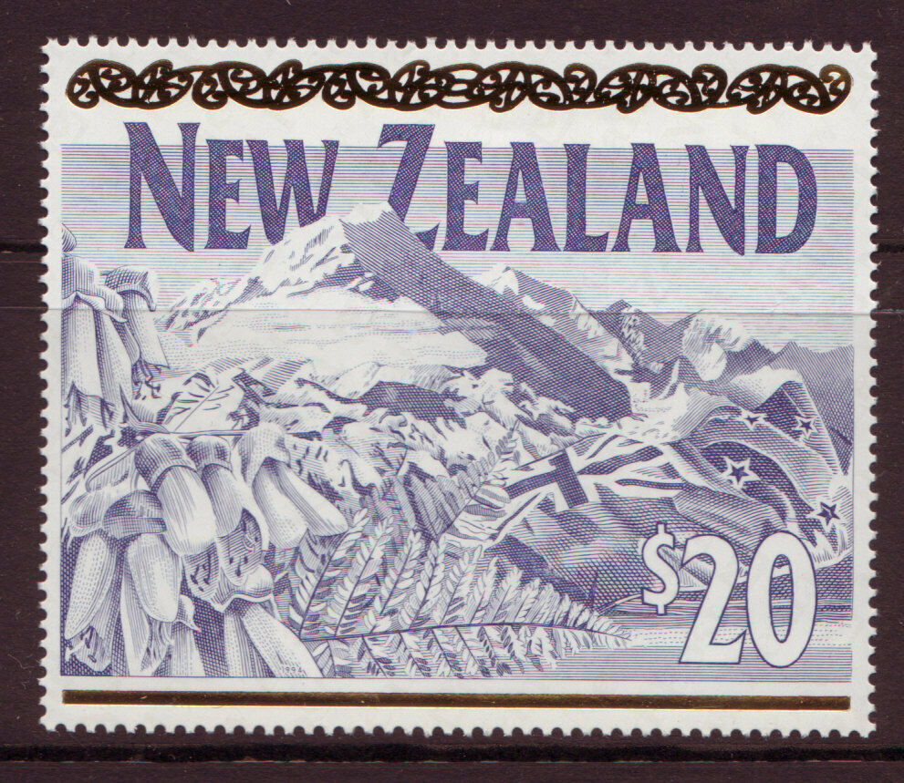new zealand 1994 20 high value unmounted mint mnh ebay. Black Bedroom Furniture Sets. Home Design Ideas