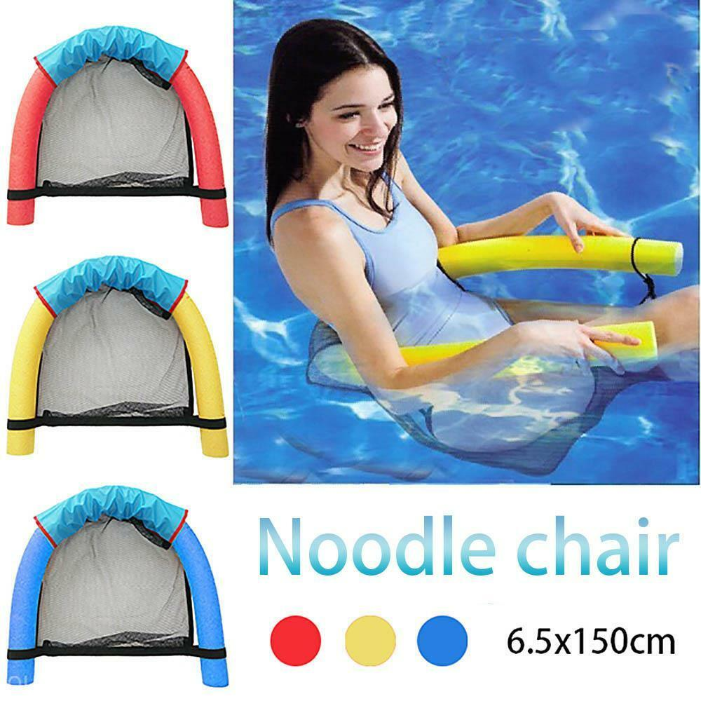 Kids Exercise Aids Soft Pool Noodle Water Floating Chair Swimming Seat Ebay
