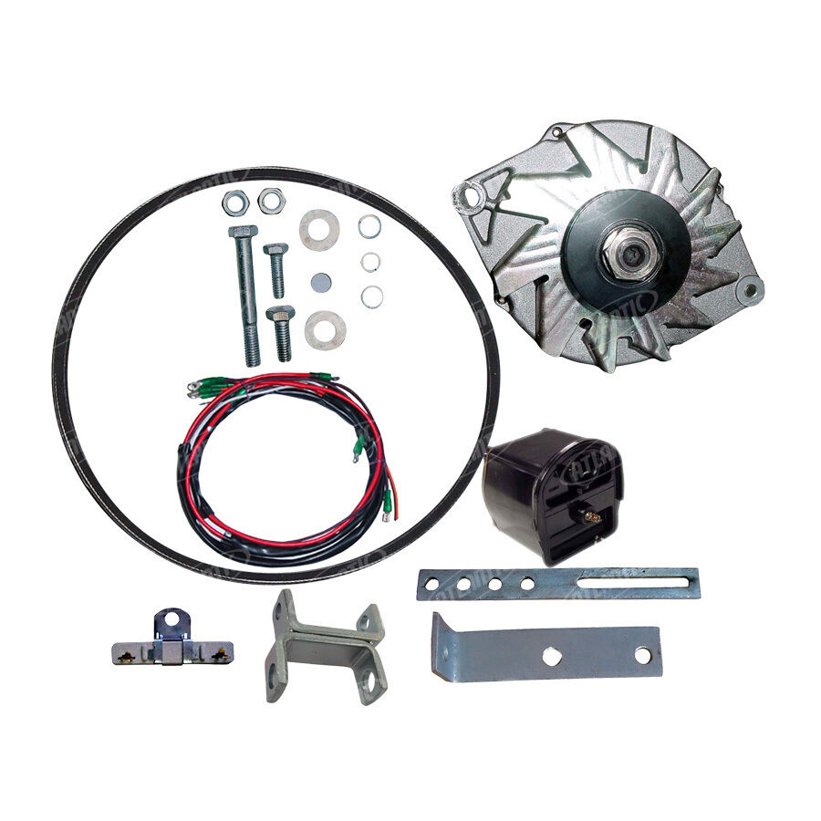 Ford Tractor Front Parts : Ford alternator conversion kit fits n w front mount