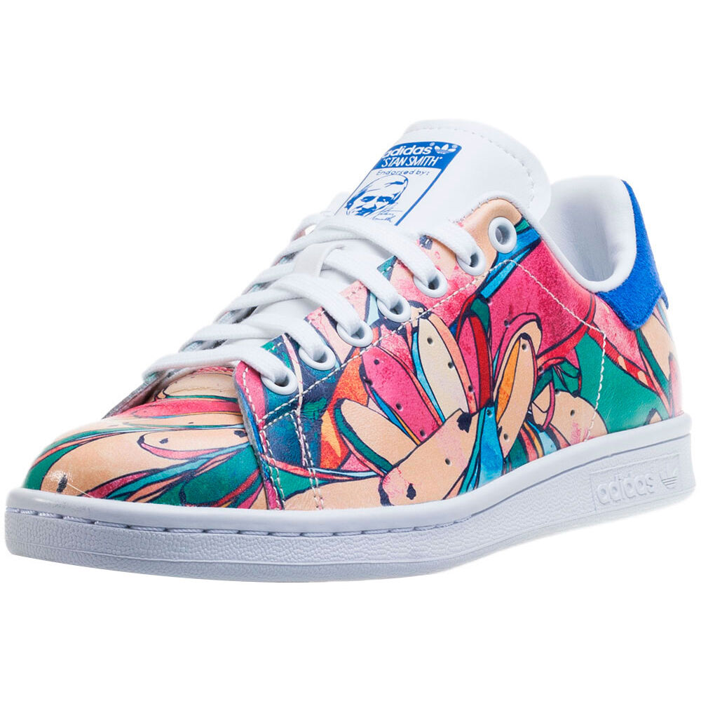 Floral Print Stan Smith Adidas Shoes