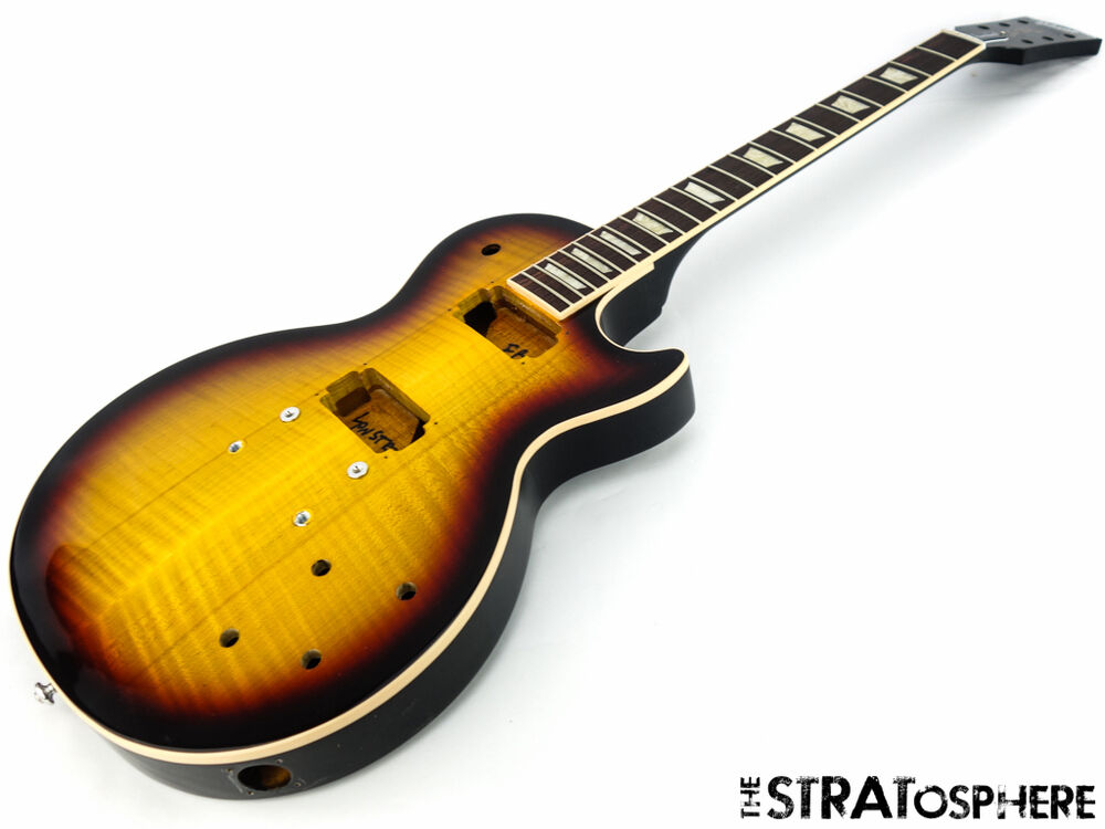 2016 gibson usa les paul standard t body neck project guitar fireball sale ebay. Black Bedroom Furniture Sets. Home Design Ideas
