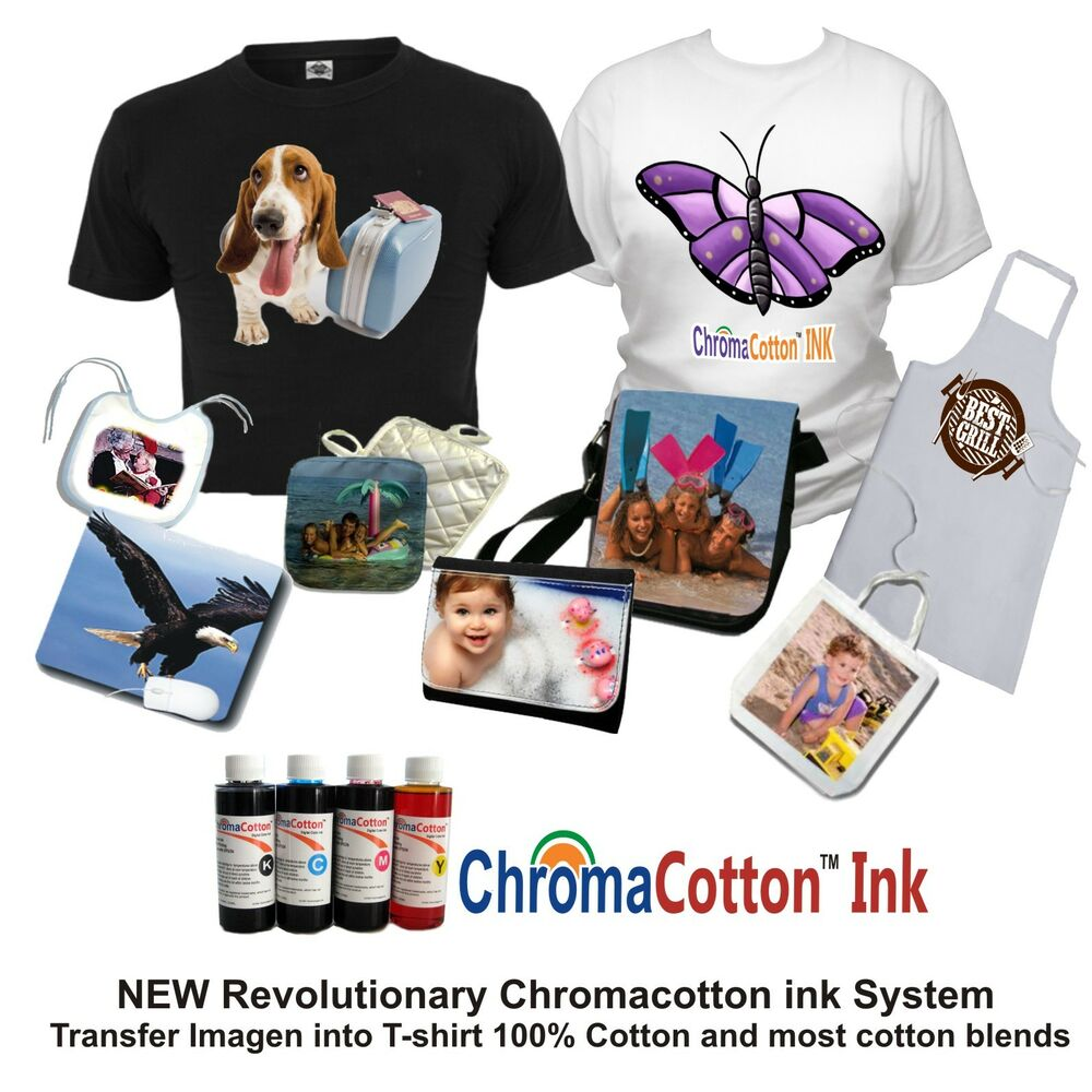 T Shirt Maker Printer Transfer 100 Cotton Bulk Ink 100 ...