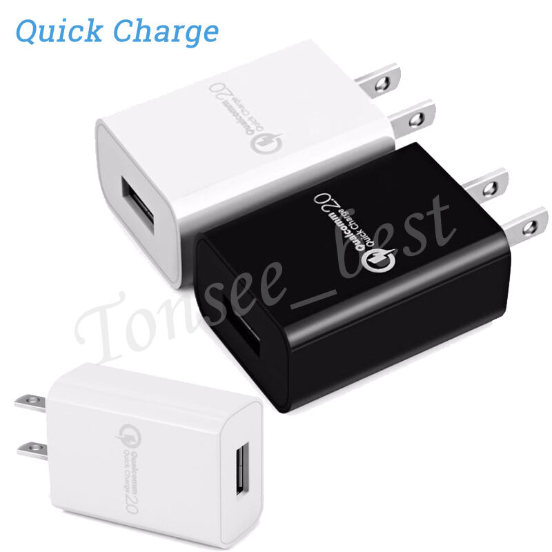 Qualcomm Certificated Quick Charge 2.0 USB Wall Fast