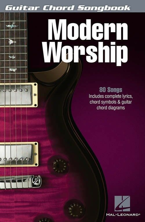 Modern Worship Guitar Chord Songbook Sheet Music Song Book