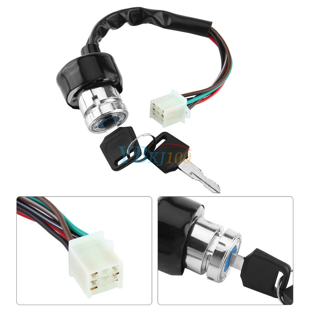 universal car motorcycle 6-wire in 9 pin plug ignition switch 3 position 2 keys   ebay switch wiring a plug for both wiring a plug for 220 ac