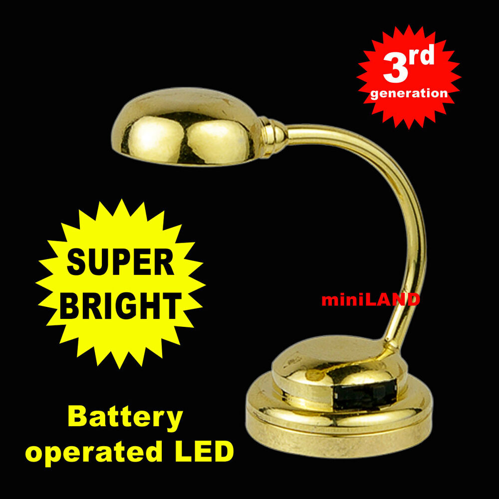 Table Desk Super Bright Battery Operated Led Lamp