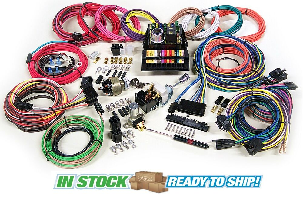 american autowire highway  complete wiring harness kit