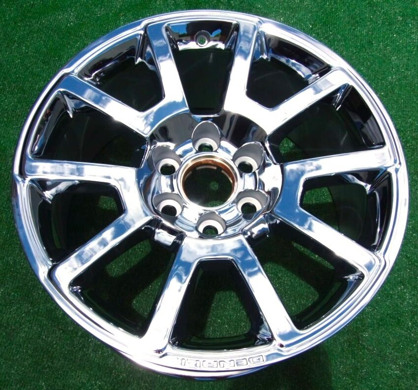 2017 Gmc Sierra Denali >> 2015 2016 New OEM Factory GM GMC Yukon Sierra DENALI Chrome 20 in RTL WHEEL 5644 | eBay