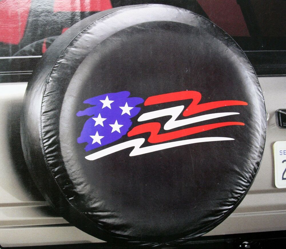american glory usa flag suv truck trailer wheel camper rv rear spare tire cover ebay. Black Bedroom Furniture Sets. Home Design Ideas