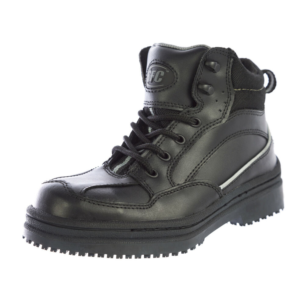 sfc shoes for crews s neo black leather boots 5255 59