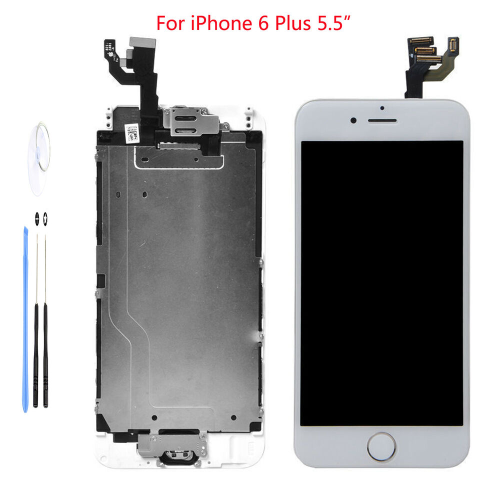 White Lcd Touch Screen Display Digitizer Assembly