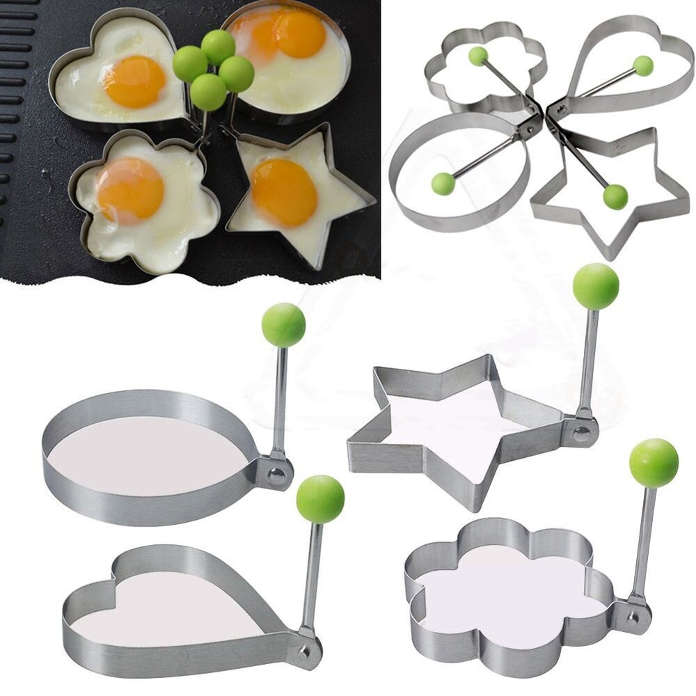 Cooking Kitchen Tool Stainless Steel Fried Egg Shaper Ring