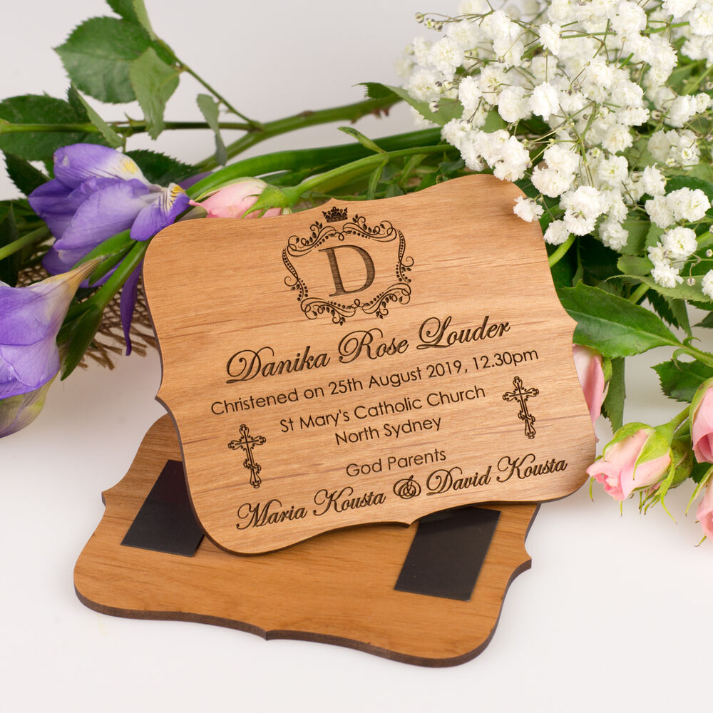Details about engraved wooden christening magnetic plaque baptism baby  birthday gift name day jpg 1000x1000 Maria fecc8f059