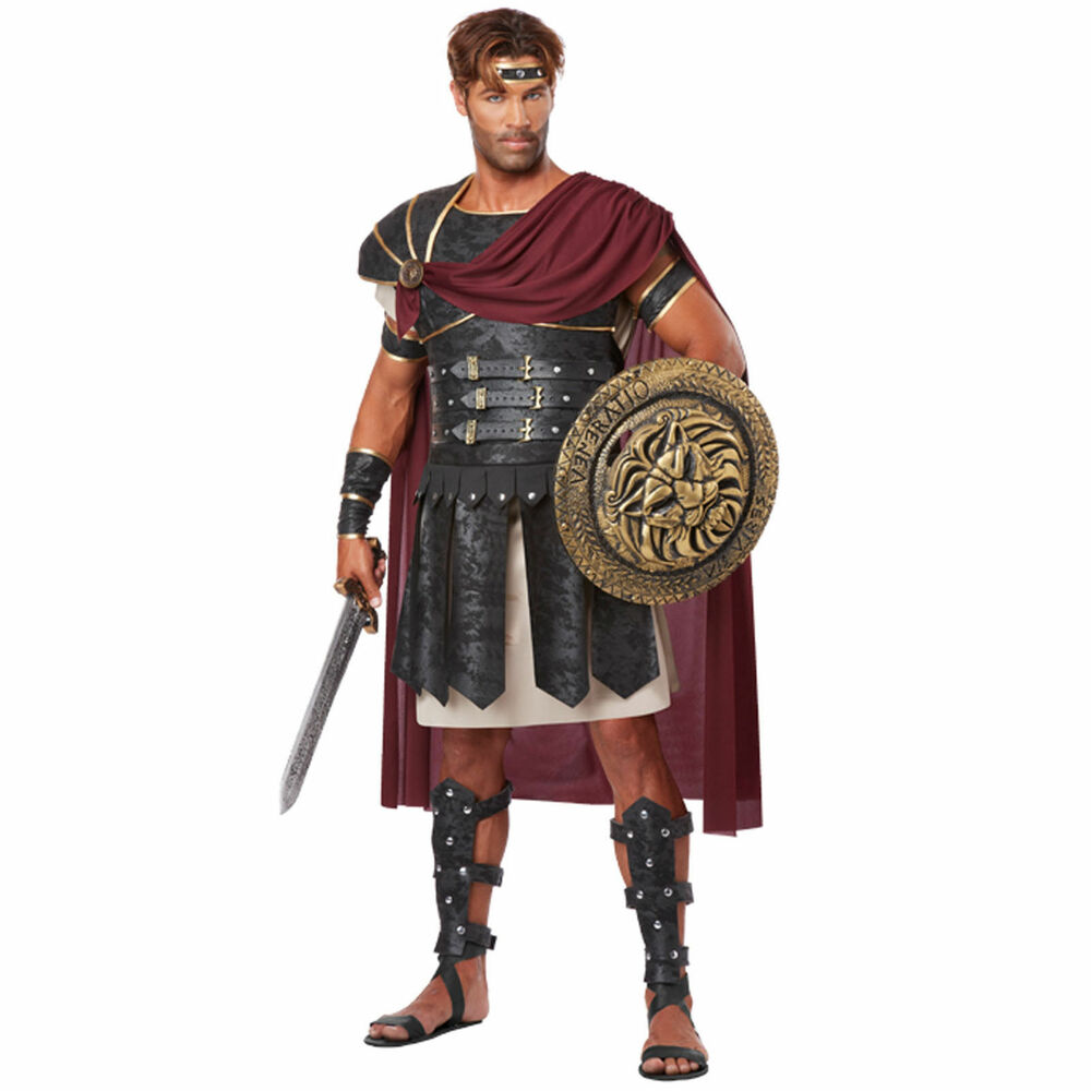 Ancient Roman Clothing For Men: ADULT MENS ROMAN GLADIATOR ANCIENT WARRIOR SOLDIER ROME