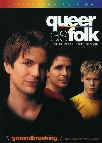 Queer as folk 6pc coll dvd gale harold hal sparks randy harrison