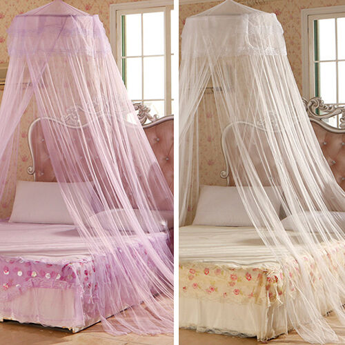 House Bedding Decor Round Bed Canopy Dome Mosquito Net New ...