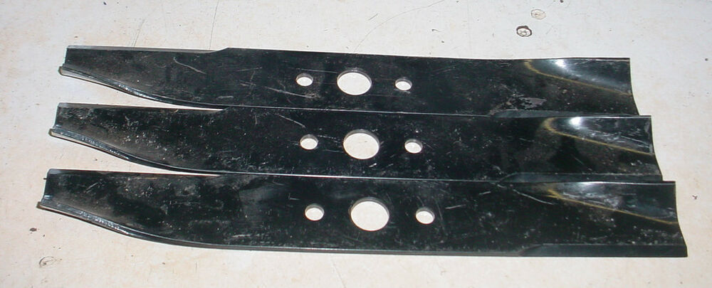 Lot Of 3 Lawn Mower Tractor Blade Simplicity Allis