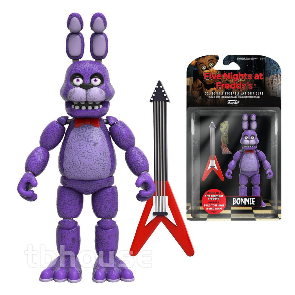 "5"" BONNIE figure FIVE NIGHTS AT FREDDY'S action SPRING ..."