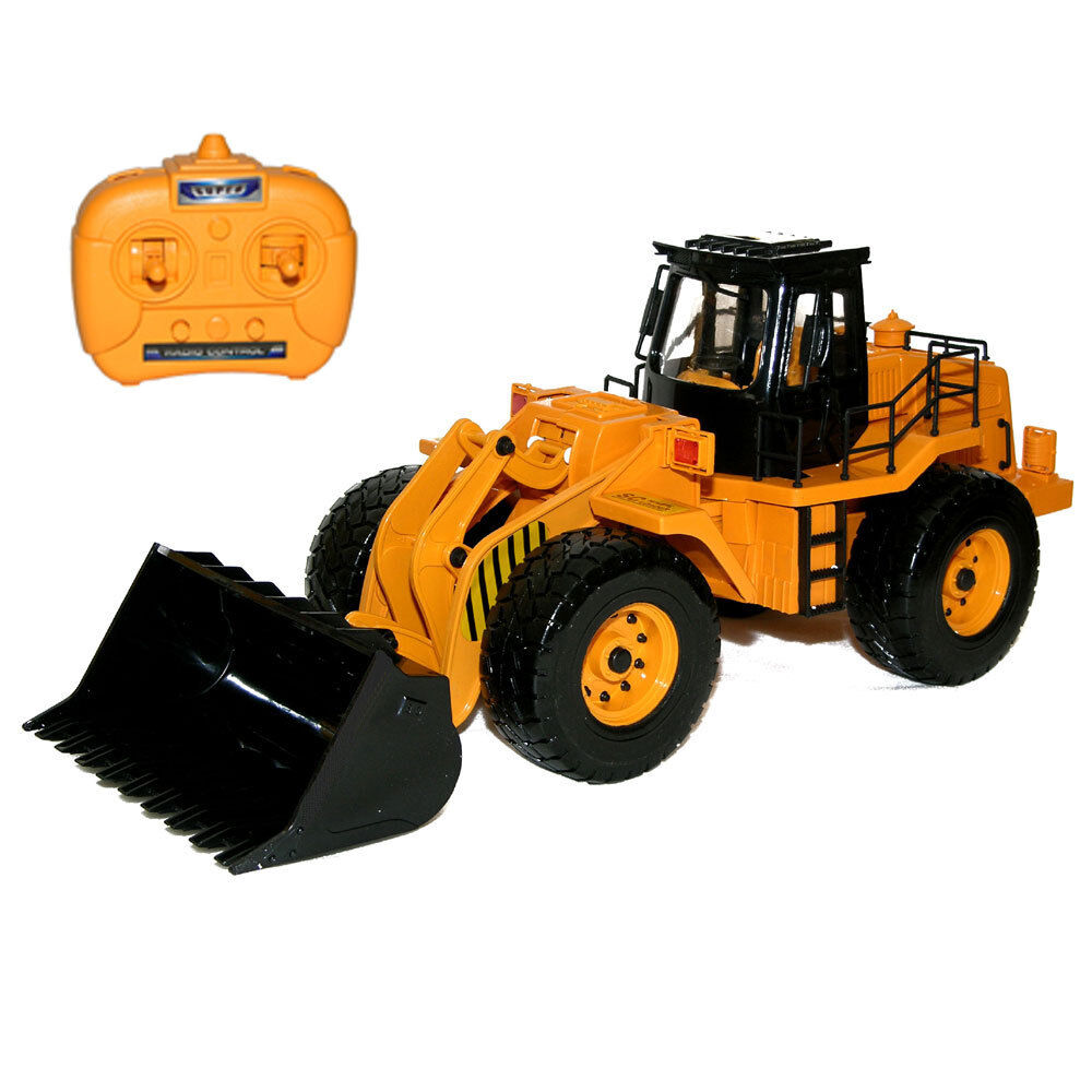 Remote Control Construction Toys : Scepter scraper remote control rc construction truck
