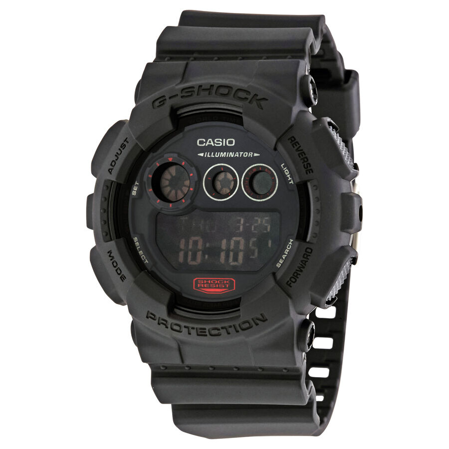 casio g shock mens digital gd120mb 1 ebay