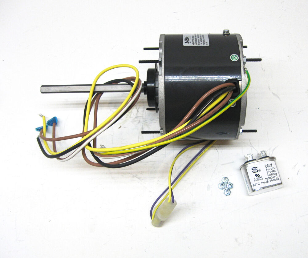 Ac air conditioner condenser fan motor 1 4 hp 1075 rpm 230 Ac motor 1 hp
