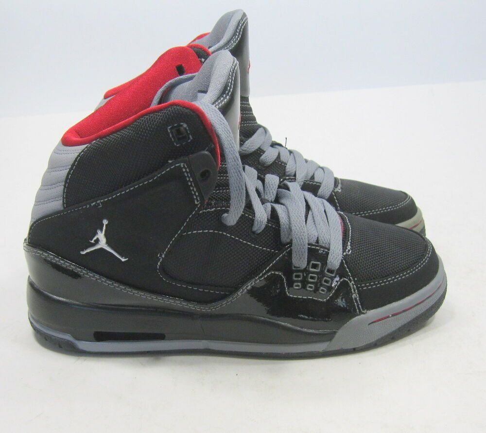buy online dc56c 93594 Details about Nike Air Jordan Sc-1 (Black Patent Varsity Red Stealth)   407493-001  Gs Size 5Y