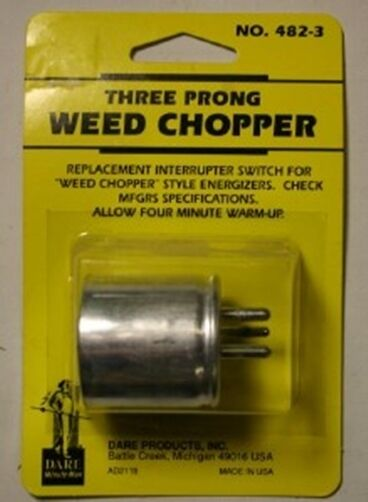 Dare Three Prong Electric Fence Fencer Weed Chopper Made