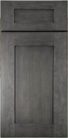 Rustic Shaker Grey Kitchen Cabinets Sample Door Rta All