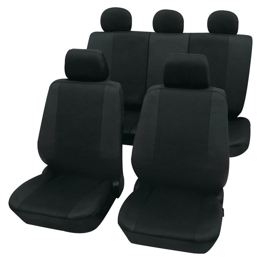 sitzbez ge sitzbezug leder look schwarz vw golf 1 2 3 4 ebay. Black Bedroom Furniture Sets. Home Design Ideas