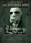 THE INVISIBLE MAN LEGACY COLLECTION DVD SET NEW FACTORY SEALED #sw-1579