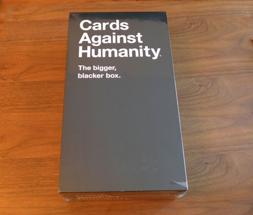 Cards Against Humanity The New Ger Blacker Box Brand Sealed Storage Ebay