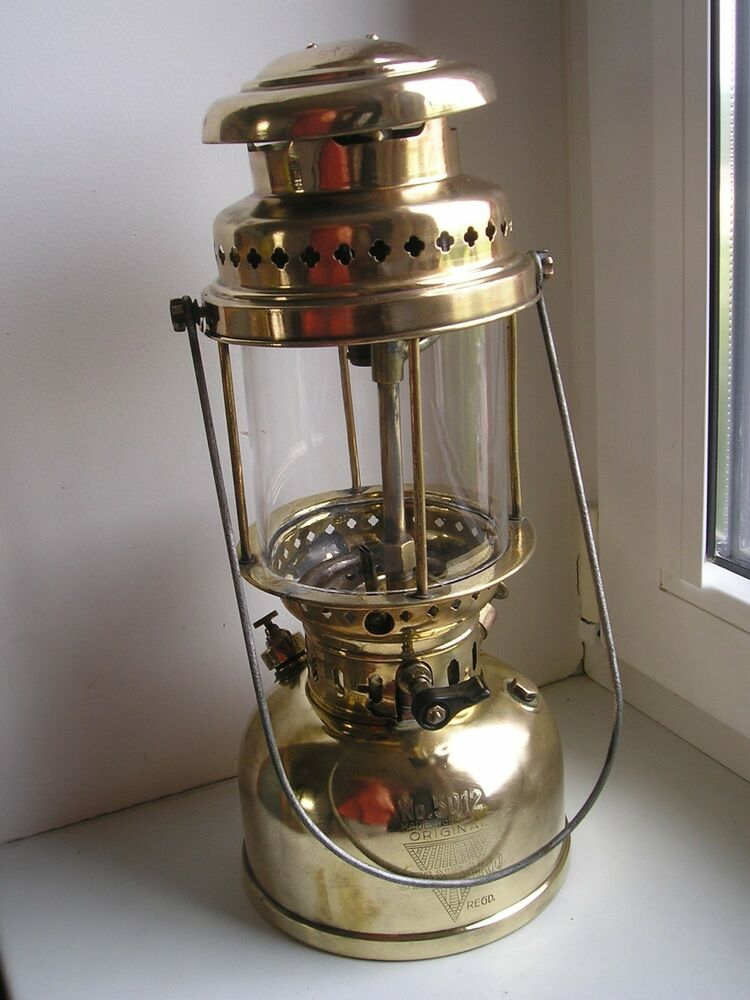 Antique Wall Gas Lamps : ANTIQUE German KEROSENE LANTERN gas LAMP