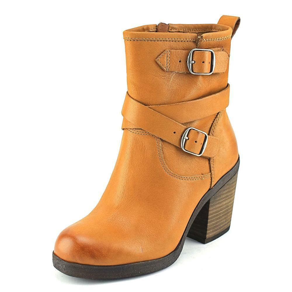 Lucky Brand Orenzo Round Toe Leather Ankle Boot Ebay