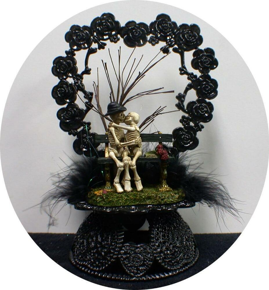 Image Result For Day Of The Dead Wedding Cake Toppers